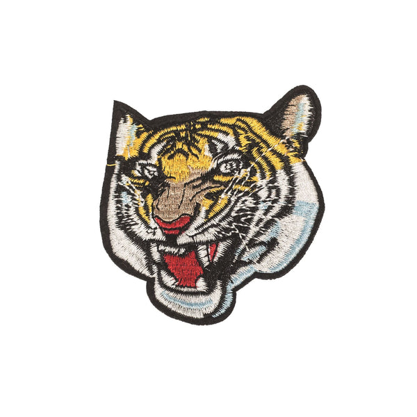 PC2324 - Tiger Roaring Head (Iron on)
