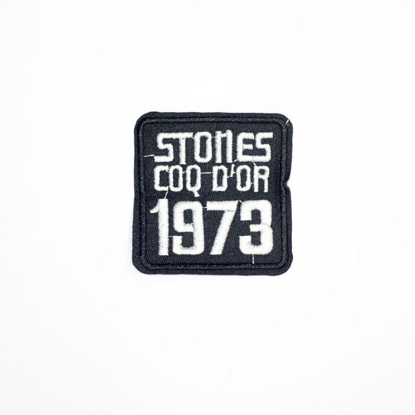 PC2223 - Stone 1973 Badge (Iron On)