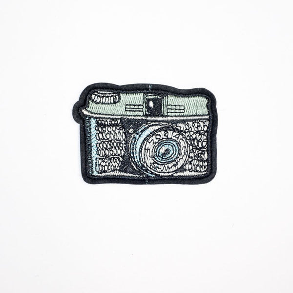 PC2186 - Photograph Camera (Iron On)