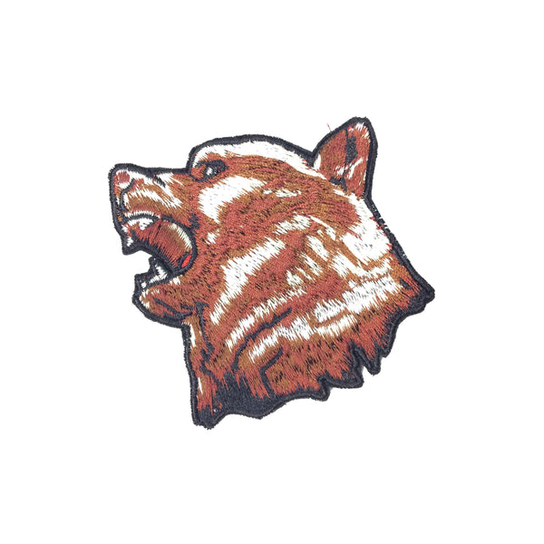 PC3630 - Roar Grizzly Brown Bear (Iron On)