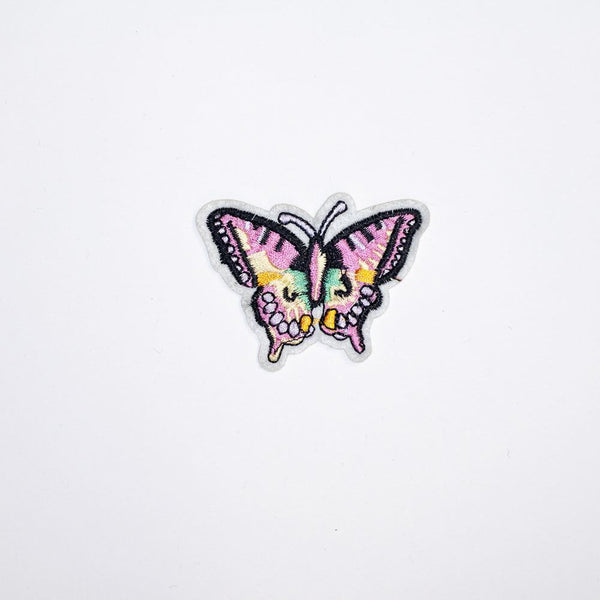 PC2212 - Pink Butterfly (Iron On)