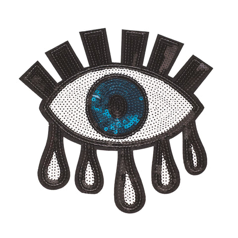 PC2323 - Sequin Eye with Tears XXL (Sew On)