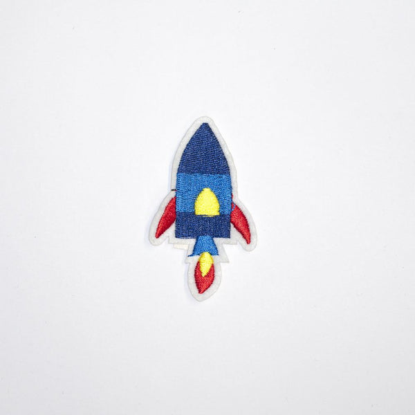 PC2152 - Blue Rocket Toy (Iron On)