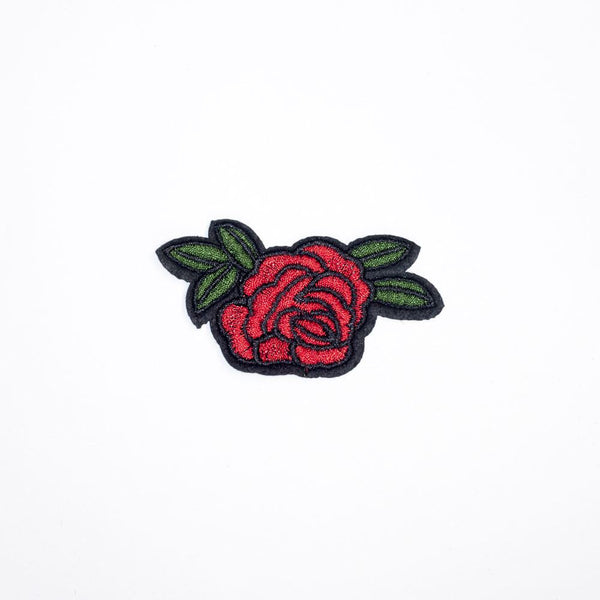 PC2169 - Small Red Rose (Iron On)
