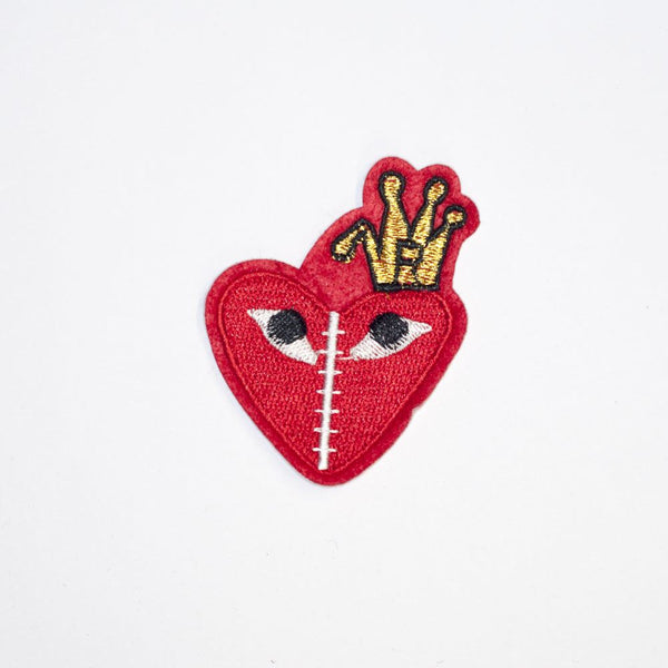 PC2113 - Heart Crown (Iron On)