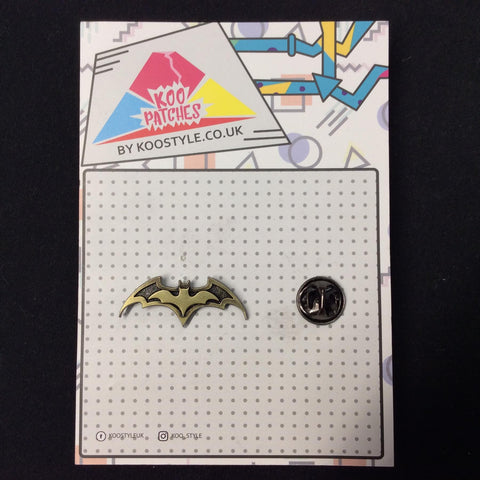MP0167 - Batman Batarang Metal Pin Badge