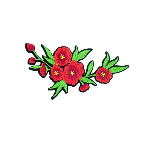 PC2724 - Red Amaryllis Flower (Iron On)