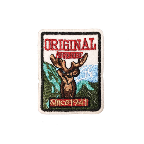 PC3613 - Original Adventure Moose Patch (Iron On)