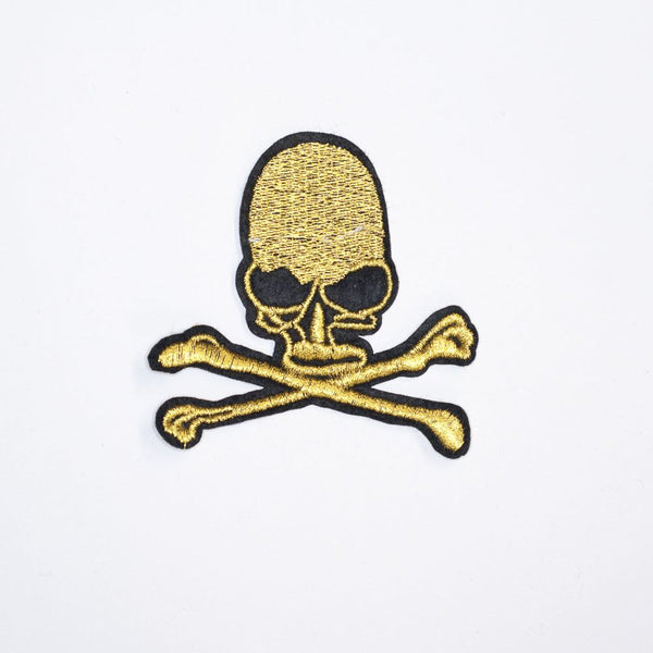 PC2071 - Golden Skull (Iron On)
