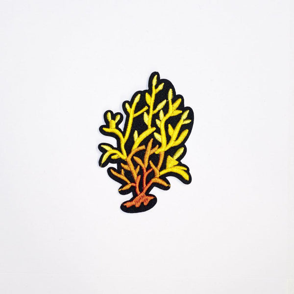 PC2182 - Fire Yellow Orange Bush (Iron On)