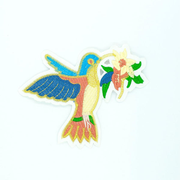PC2526 - Bird Carrying Flower (Iron On)
