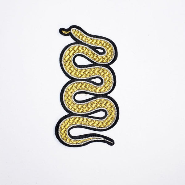 PC2155 - Golden Snake Animal (Iron On)