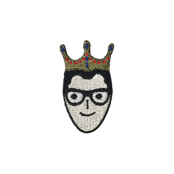 PC3679 - King Prince Crown Man (Iron On)