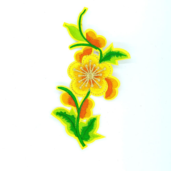 PC2504 - Pure Yellow Flower (Iron On)