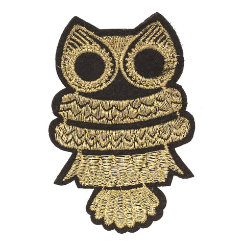 PC2297 - Gold Owl (Iron on)