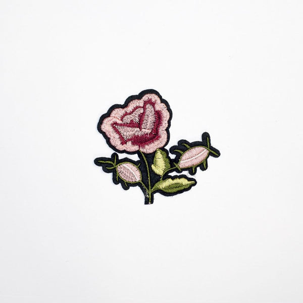 PC2175 - Pink Small Flower (Iron On)