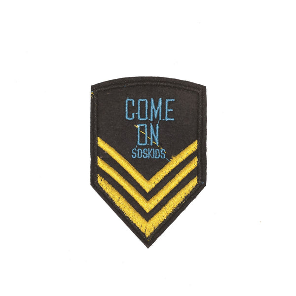 PC2276 - Come On Soskids Badge (Iron on)