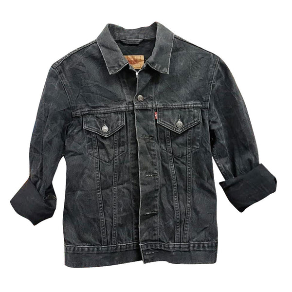 BLACK VINTAGE A GRADE , LEVIS, WRANGLE, LEE, CARRERA AND SIMILLAR DENIM JACKETS
