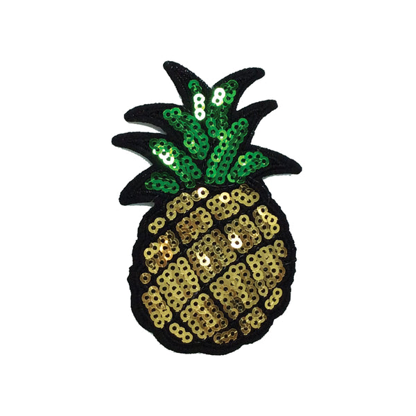 PC2957 - Sequin Pineapple Small (Iron On)