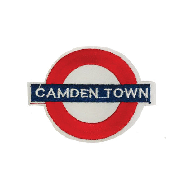 PC3042C - Camden Town London Underground (Iron On)