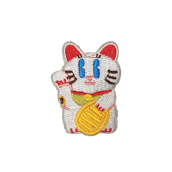 PC3693 - Cute Chinese Cat (Iron On)