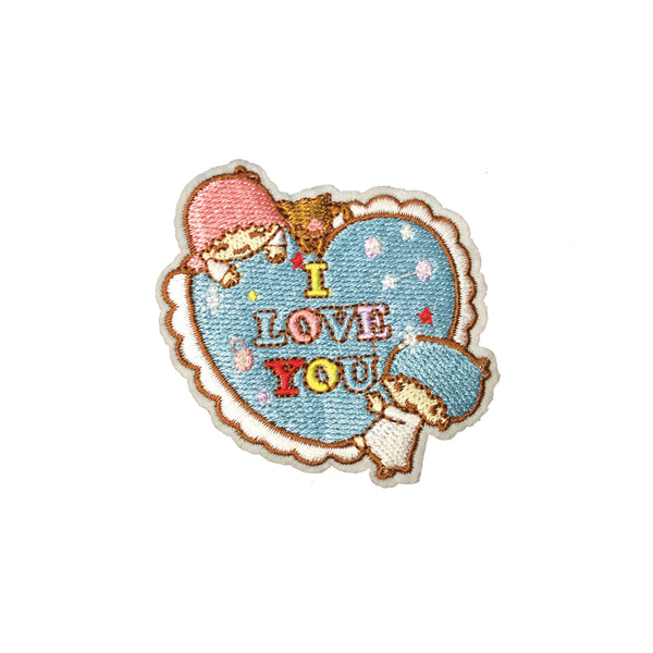 PC3716 - I Love You Flower Heart Message (Iron On)