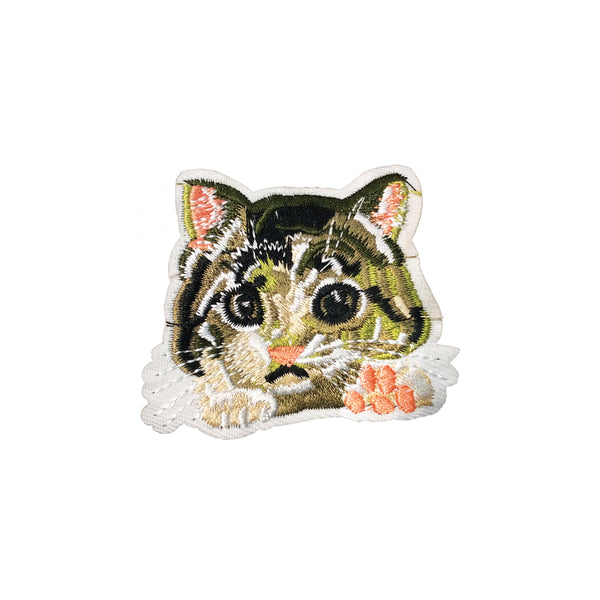 PC3740 - Cat Face Paws (Iron On)
