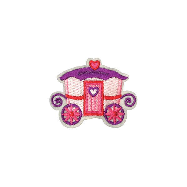 PC3825 - Pink Princess Carriage (Iron On)