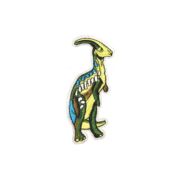 PC3830 - Parasaurolophus Dinosaur (Iron On)