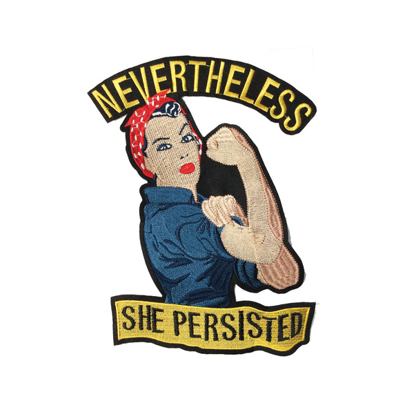 PC3836 - She Persisted Women Empowerment (Iron On)