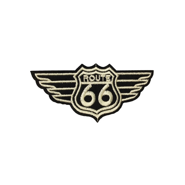 PC3865 - Route 66 Wings (Iron On)