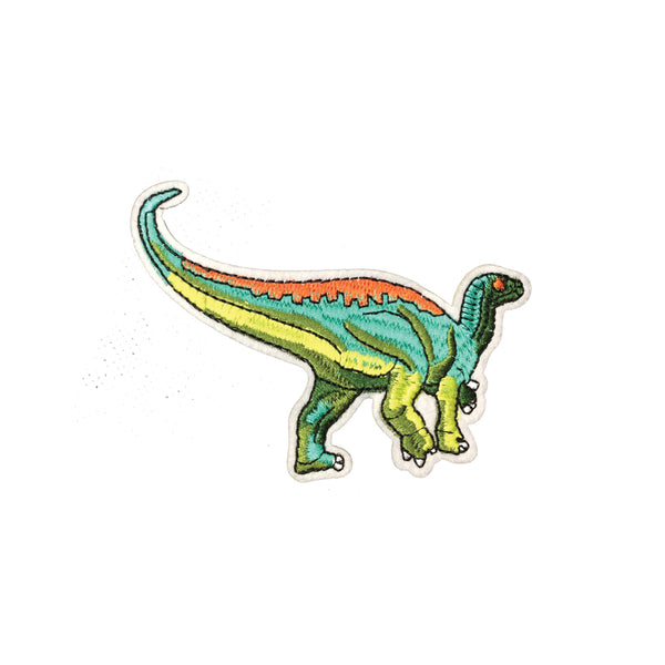 PC3897C - Green Sauropod Dinosaur (Iron On)