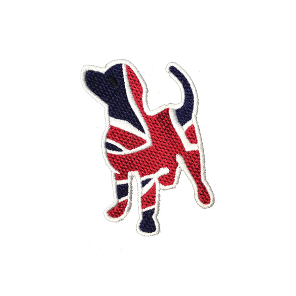 PC3909 - Union Jack Dog (iron On)
