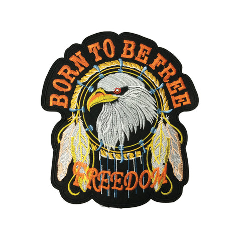 PC3973 - Born To Be Freedom Eagle (Iron On)