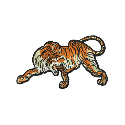PC3974 - Roaring Pouncing Tiger (Sew On)