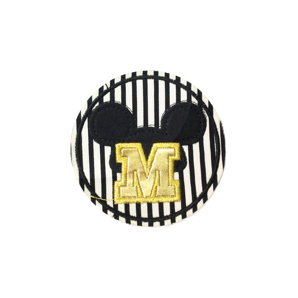 PC4016 - Letter M for Mickey Mouse (Iron On)