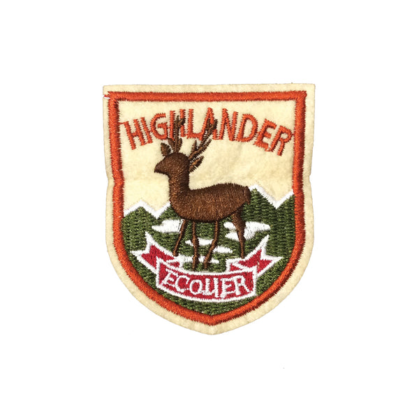 PC4023 - Highlander Deer (Iron On)