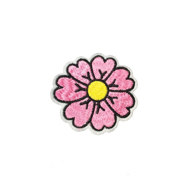 PC4027 - Pink Daisy Flower (Iron On)