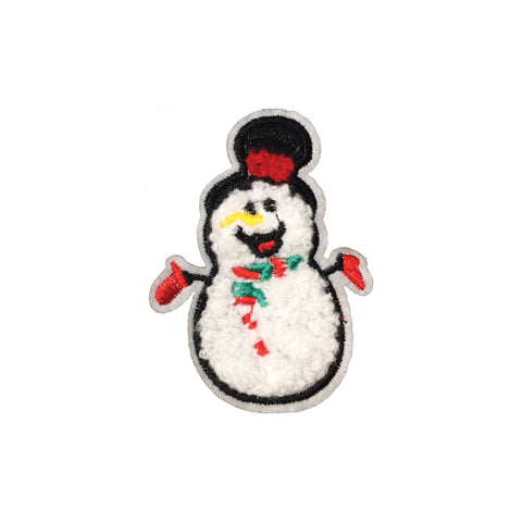 PC4094 - Fur Snowman (Sew On)