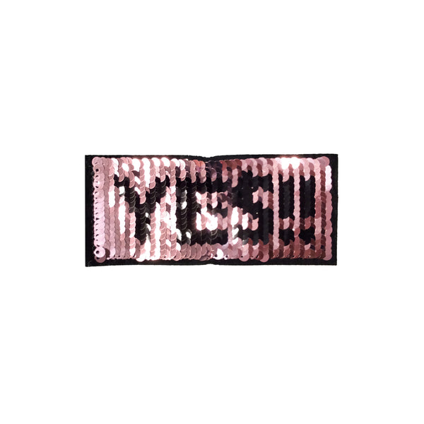 PC4103 - Reversible Double Sequin YES Text (Iron On)