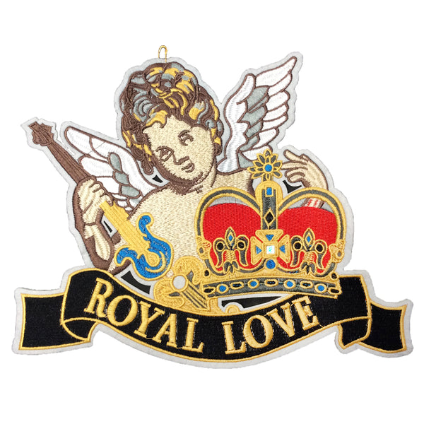 PC4120 - Angel Royal Love Text (Sew On)