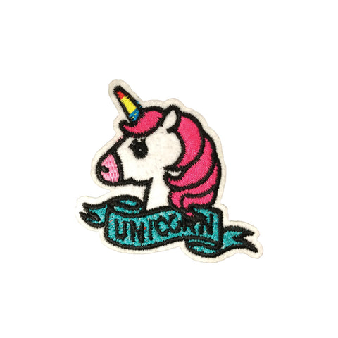 PC3497 - Unicorn Ribbon (Iron On)