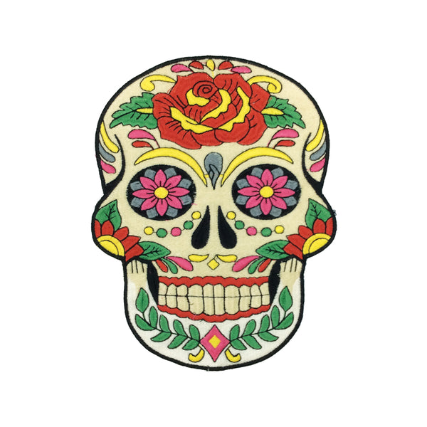 PC3375 - Sugar Skull L (Iron On)