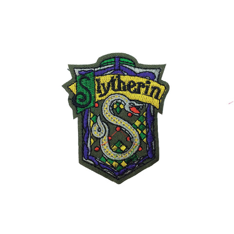 PC3202B - Harry Potter Slytherin Badge (Iron On)
