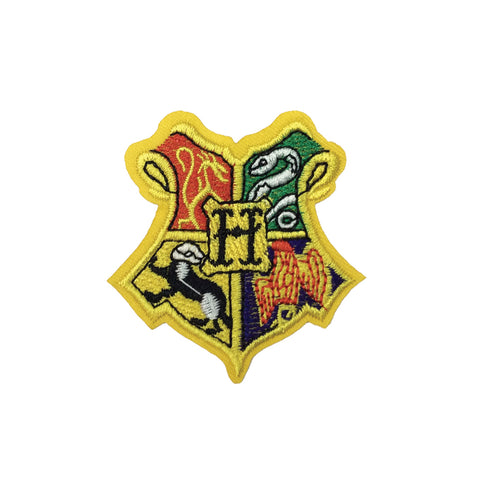 PC3203 - Harry Potter Hogwarts Crest Badge (Iron On)