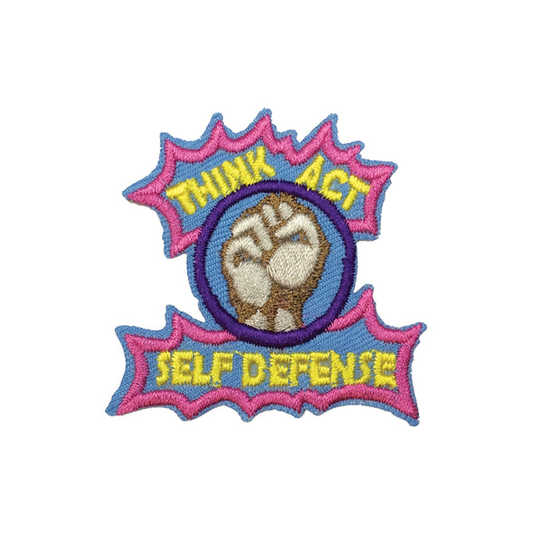PC3195 - Think Act Self Defense (Iron On)