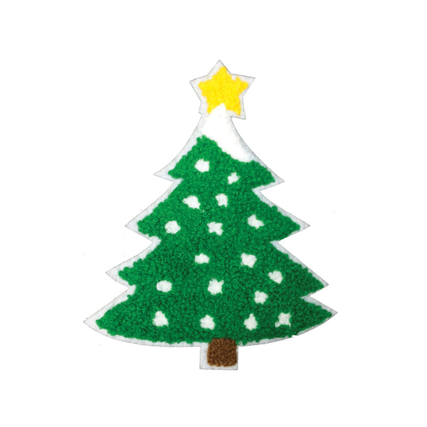 PC3396 -  Fur Merry Christmas Tree (Iron On)