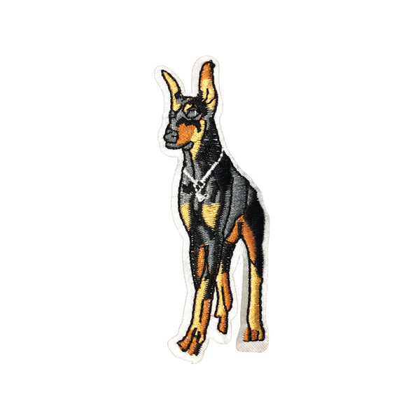 PC3561 - Doberman Dog (Iron On)