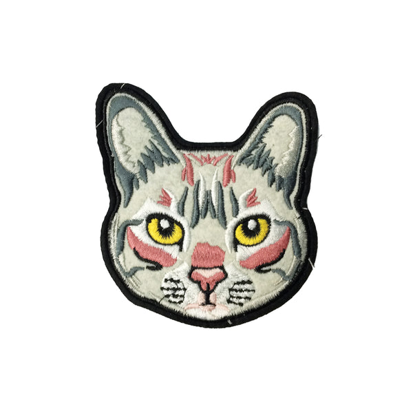 PC3426 - Cat Face (Iron On)