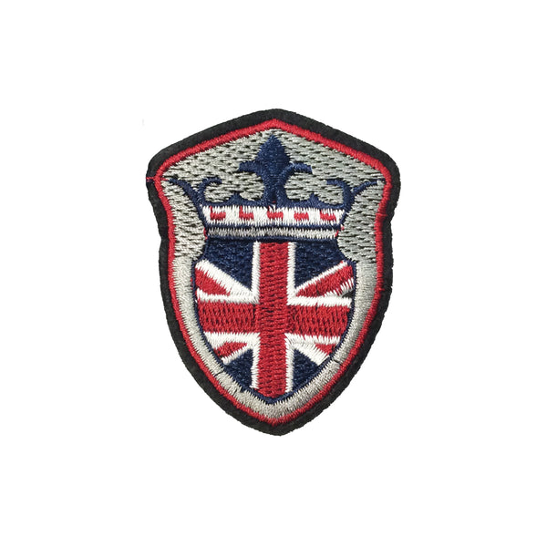 PT1268 - England Union Jack Flag Badge (Iron on)